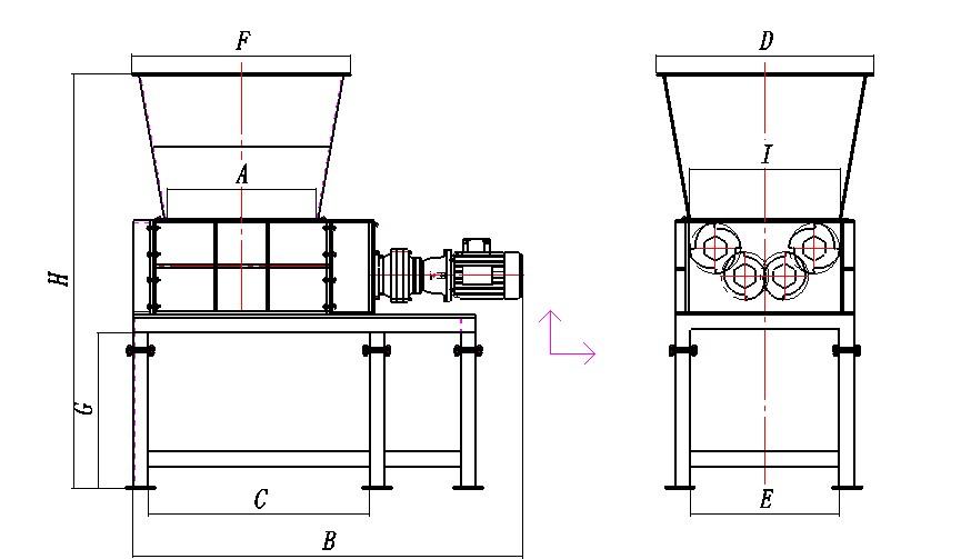 Шредер для пластика чертежи